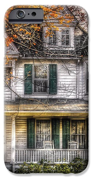 House - Classic Victorian iPhone Case by Mike Savad