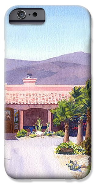 House in Borrego Springs iPhone Case by Mary Helmreich