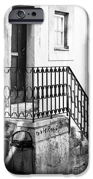 House in the Corner iPhone Case by John Rizzuto