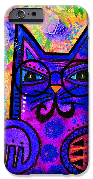 Imaginative iPhone Cases - House of Cats series - Paws iPhone Case by Moon Stumpp