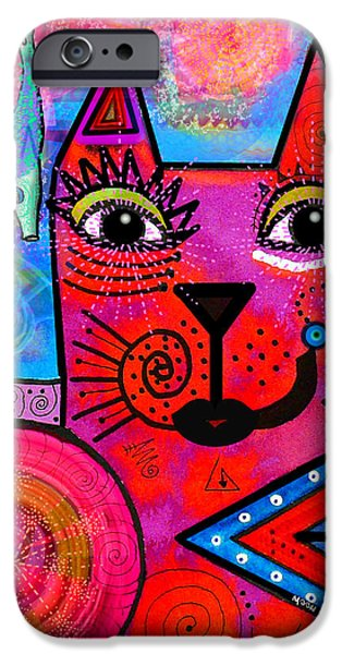 Imaginative iPhone Cases - House of Cats series - Tally iPhone Case by Moon Stumpp