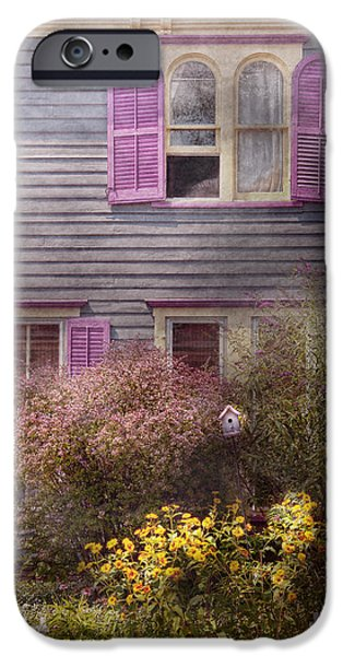 House - Victorian - A house to call my own  iPhone Case by Mike Savad