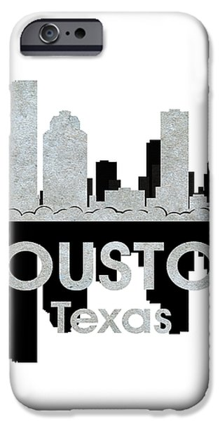 Houston TX 4 iPhone Case by Angelina Vick