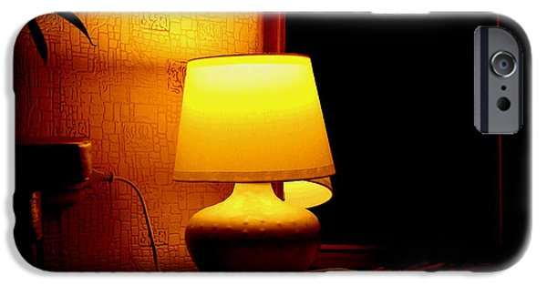Night Lamp iPhone Cases - Hover iPhone Case by Svetlana Nilova