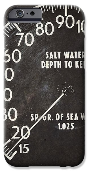 How Deep is the Sea iPhone Case by Lisa Russo