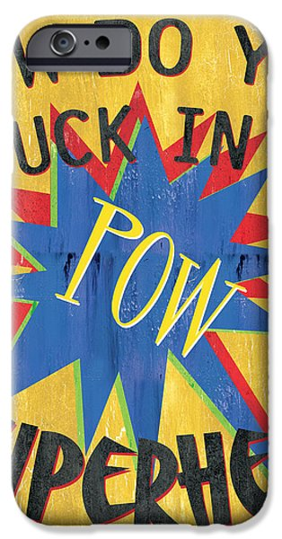How Do You Tuck... iPhone Case by Debbie DeWitt