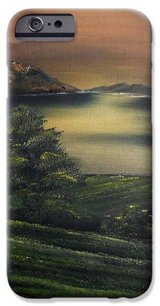 How Green is my Valley iPhone Case by Cynthia Adams