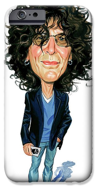 Howard Stern iPhone Case by Art
