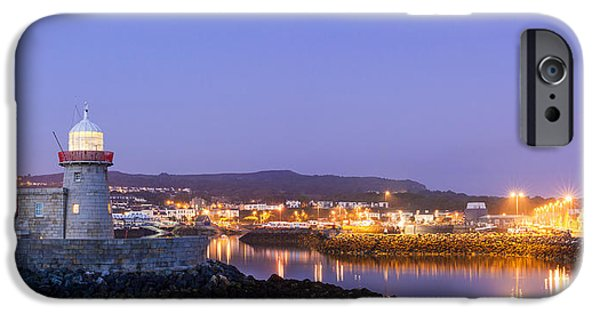 Recently Sold -  - Village iPhone Cases - Howth Harbour Lighthouse iPhone Case by Semmick Photo