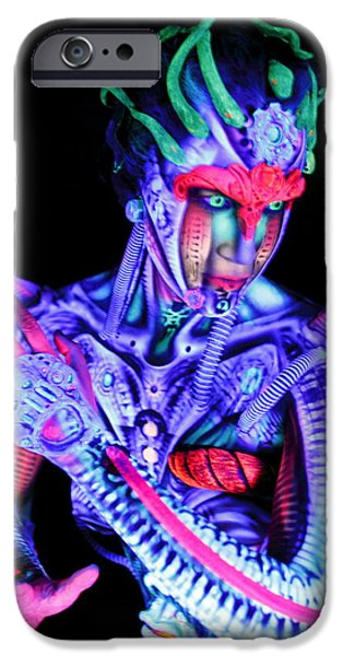 H.r. Giger iPhone Cases - H.R. Giger Inspired A iPhone Case by Alex Hansen - Julian Bartram - Cully Firmin