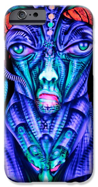 H.r. Giger iPhone Cases - H.R. Giger Inspired D iPhone Case by Alex Hansen - Julian Bartram - Cully Firmin
