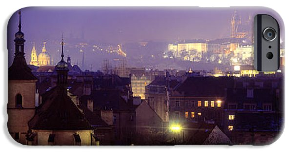 President iPhone Cases - Hradcany Castle, Prague, Czech Republic iPhone Case by Panoramic Images