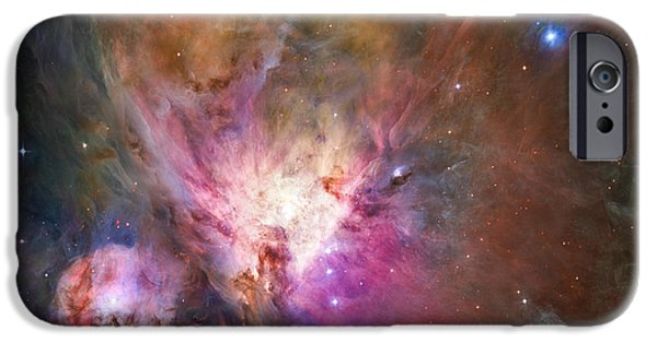 Heaven Photographs iPhone Cases - Hubbles sharpest view of the Orion Nebula iPhone Case by Adam Romanowicz