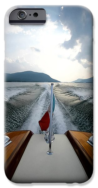 Recently Sold -  - Drama iPhone Cases - Hudson River Riva iPhone Case by Steven Lapkin