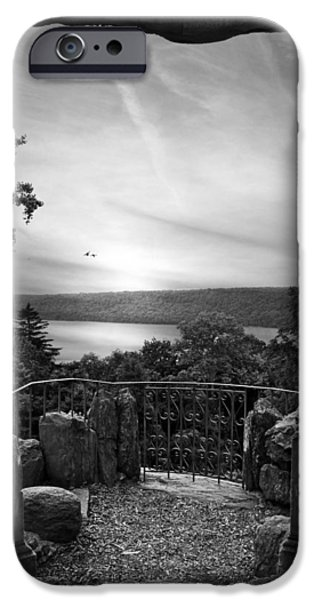 Hudson River Digital iPhone Cases - Hudson River Views iPhone Case by Jessica Jenney