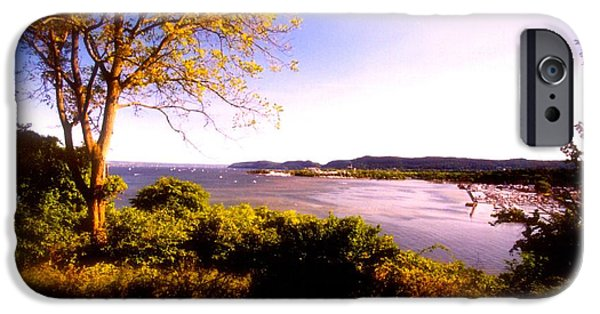 Hudson River iPhone Cases - Hudson Valley  Photograph  iPhone Case by Iconic Images Art Gallery David Pucciarelli