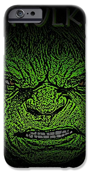 Hulk Custom  iPhone Case by Movie Poster Prints