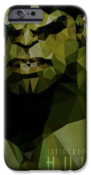 Warrior iPhone Cases - Hulk iPhone Case by Daniel Hapi