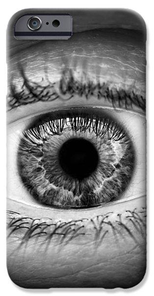 Human eye iPhone Case by Elena Elisseeva