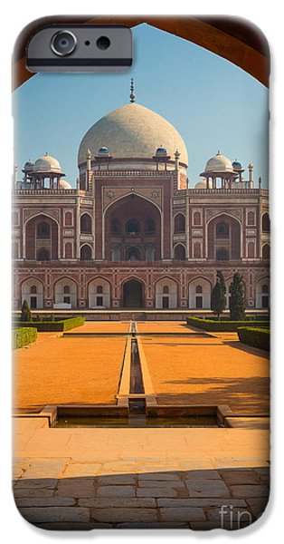 Opening iPhone Cases - Humayuns Tomb Archway iPhone Case by Inge Johnsson