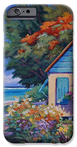 Bermudas iPhone Cases - Humble Home iPhone Case by John Clark