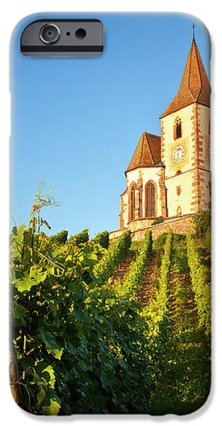 Hunawihr Church iPhone Case by Brian Jannsen