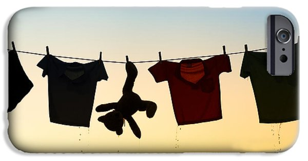 Innocence iPhone Cases - Hung Out To Dry iPhone Case by Tim Gainey