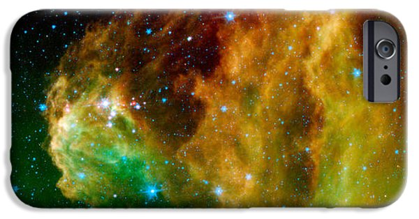Heaven Photographs iPhone Cases - Hunter Constellation iPhone Case by Sebastian Musial