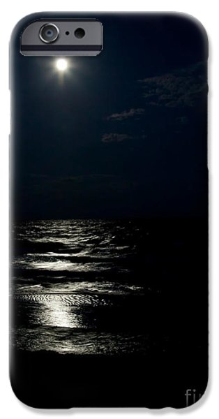 Michelle iPhone Cases - Hunters Moon II iPhone Case by Michelle Wiarda