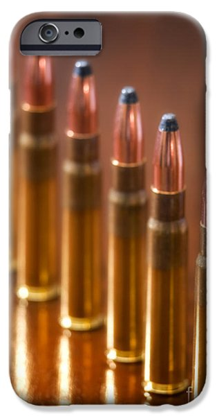 Ammunition iPhone Cases - Hunting Ammunition iPhone Case by Sinisa Botas