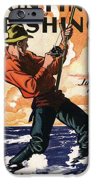 Fishermen iPhone Cases - Hunting and Fishing iPhone Case by Gary Grayson