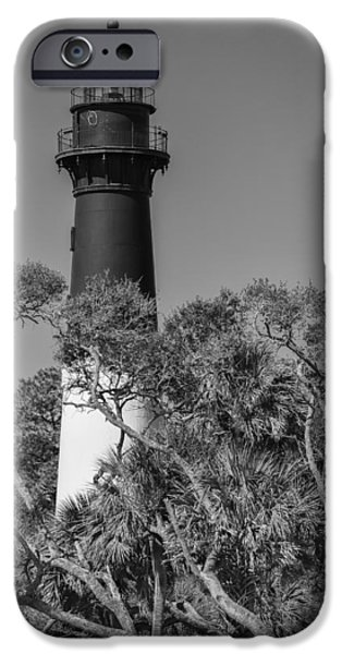 Hunting Island Light iPhone Case by Brian Young