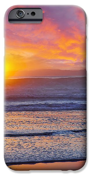 Huntington Beach Drama iPhone Case by Kelley King
