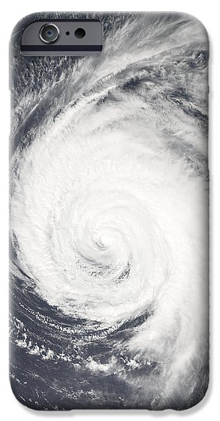 Strong America iPhone Cases - Hurricane iPhone Case by Unknown