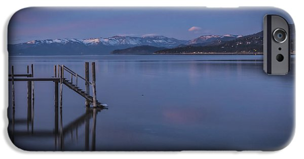 Mount Rose iPhone Cases - Hush iPhone Case by Mitch Shindelbower