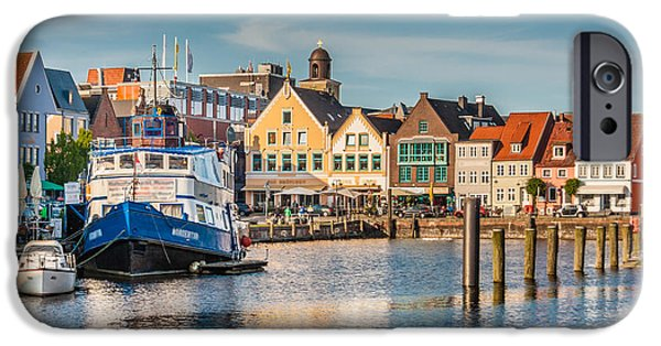North Sea iPhone Cases - Husum iPhone Case by JR Photography
