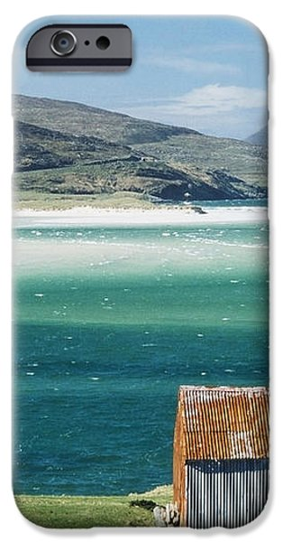 Hut On West Coast Of Isle iPhone Case by Rob Penn