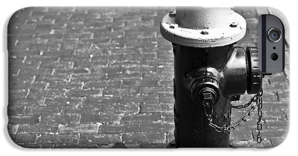 Boston Ma iPhone Cases - Hydrant iPhone Case by Jason Moynihan