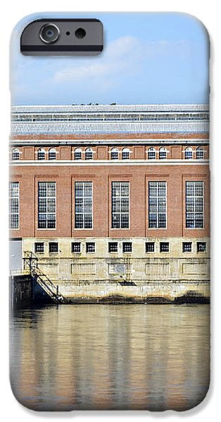 Hydroelectric Power iPhone Case by Susan Leggett