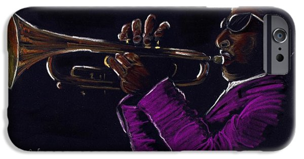 Music Pastels iPhone Cases - Hypnotiq iPhone Case by Charlie Black