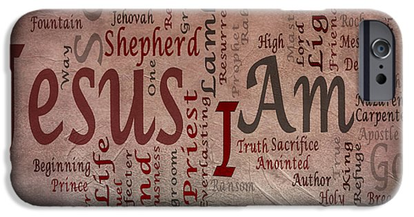 Bridegroom iPhone Cases - I Am 1 iPhone Case by Angelina Vick
