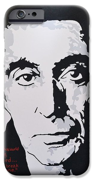 Al Pacino Mixed Media iPhone Cases - I Am Al iPhone Case by Caesaray Starbuck