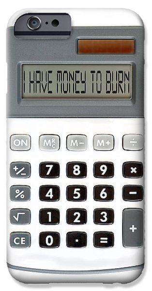 I am broke iPhone Case by Michal Boubin