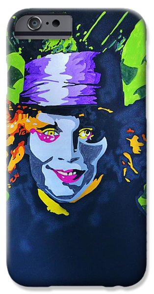 Mad Hatter iPhone Cases - I Am Johnny iPhone Case by Caesaray Starbuck