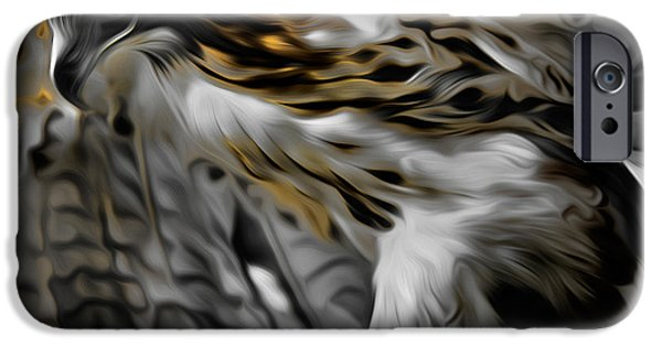 Redtail Hawk iPhone Cases - I am Redtail iPhone Case by Bill  Wakeley