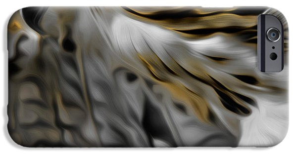 Redtail Hawk iPhone Cases - I am Redtail Square iPhone Case by Bill  Wakeley