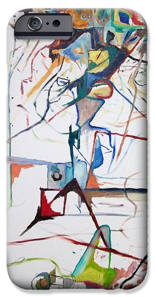 Abstractions iPhone Cases - I believe this and understand it fully well 1 iPhone Case by David Baruch Wolk