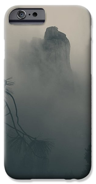 Mist iPhone Cases - I Can Barely Remember iPhone Case by Laurie Search