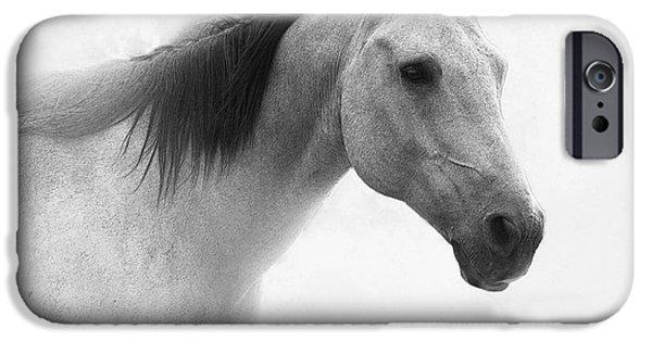 Quarter Horses iPhone Cases - I Dream of Horses iPhone Case by Betty LaRue