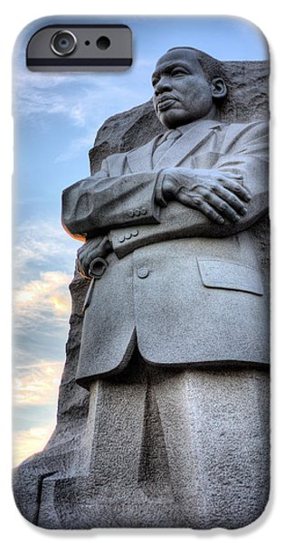Martin Luther King Jr iPhone Cases - I Have a Dream iPhone Case by JC Findley